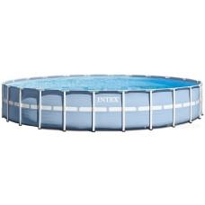 Каркасный бассейн Intex Prism Frame 28762 732x132 см + фильтр-насос, лестница, тент, подстилка