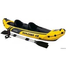 Надувная лодка-каяк Explorer K2, Intex 68307NP