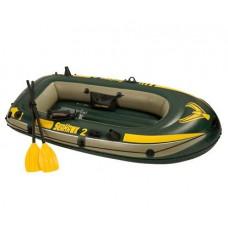 Лодка надувная 236x114 см, Seahawk-2 Set, Intex 68347NP