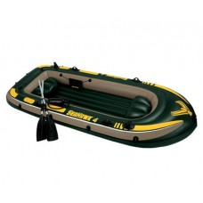 Лодка надувная 338x127 см, Seahawk-4 Set, Intex 68351NP