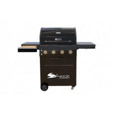 Газовый гриль Sahara A450 4 Burner Performer, черный