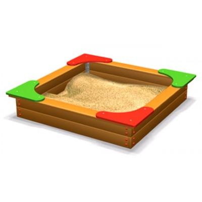Песочница большая с сиденьями ЭКТА DIO 204 фото