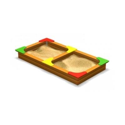 Песочница двойная ЭКТА DIO 205 фото