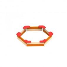 Песочница шестиугольная ЭКТА DIO 206