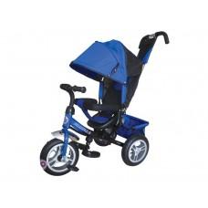 """Детский трехколесный велосипед Trike Formula 3, надувные колеса 12""""/10"""", цвет синий (FA3B)"""