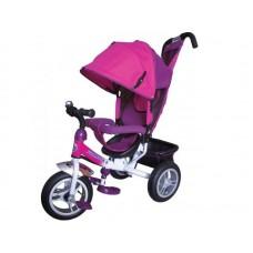 """Детский трехколесный велосипед Trike Formula 3, надувные колеса 12""""/10"""", цвет розовый (FA3P)"""