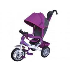 """Детский трехколесный велосипед Trike Formula 3, надувные колеса 12""""/10"""", цвет фиолетовый (FA3V)"""