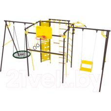 Игровой комплекс Rokids Атлет-К2 УДСК-7.3 шоколад