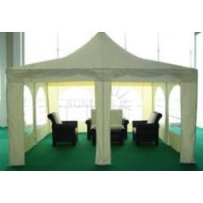 Полюсный тент шатер 4x4 м Sundays P44301 для выставок и торжеств, полиэстер