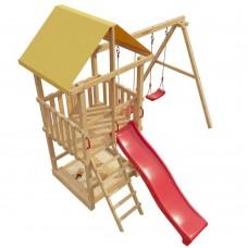 Детская деревянная площадка 3-й Элемент