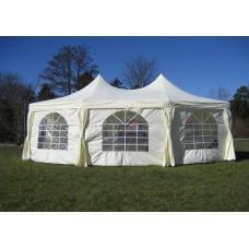 Полюсный тент шатер 6,8x5 м Sundays PA58301 для торжеств, полиэстер