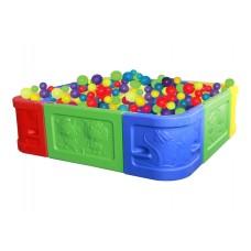 Квадратный сухой бассейн для шариков Sundays QC-10004