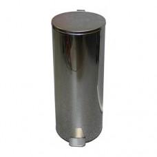 Урна металлическая с педалью 30 литров (Хром)