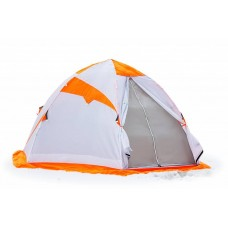 """Палатка для зимней рыбалки """"Лотос 4 оранжевая"""""""