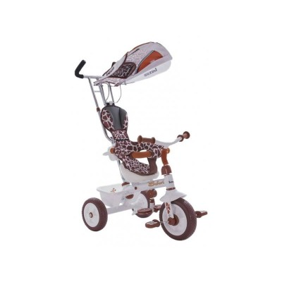"""3-х колесный велосипед Lexus Safari Trike белый, 10""""/8"""" (Т56790 Леопард)"""