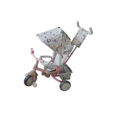 """Велосипед трёхколесный Navigator Lexus пластиковые колеса 10""""/8"""" розовый (Т57664)"""