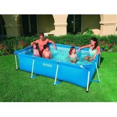 Каркасный бассейн 300x200x75 см прямоугольный, Intex 58981