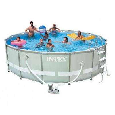 Каркасный бассейн с комплектом 488х122 см, Ultra Rondo, Intex 54922