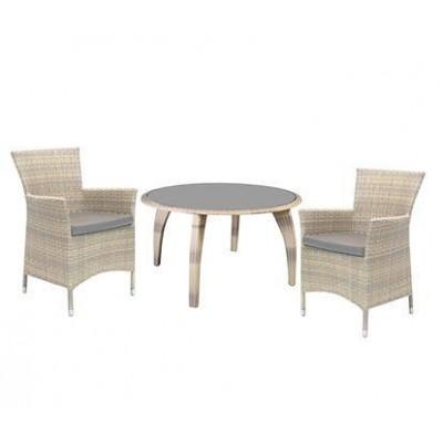 Стол и 4 кресла WICKER, Garden4you 12707, 1270