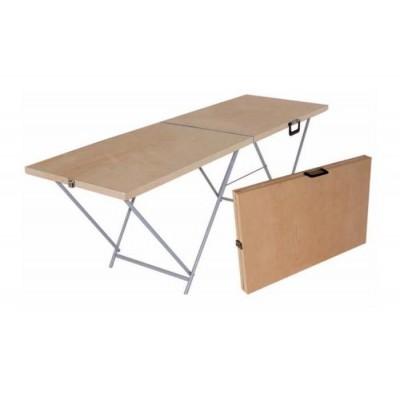 Торговый стол раскладной 1,8*0,6 (6мм, усиленный) фото
