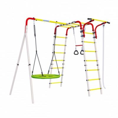 Детская игровая площадка Весёлая лужайка-2  ГНЕЗДО качели Romana R 103.25.04 NEW фото