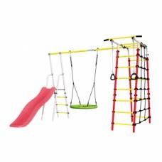 Детская игровая площадка Богатырь Плюс 2  ГНЕЗДО качели Romana R 103.12.05 NEW