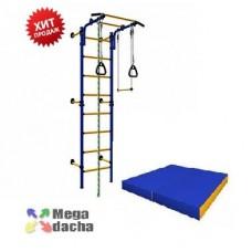 Комплект Карусель Комета NEXT 1 + Мат гимнастический Perfetto Sport №2 100х100х10 см
