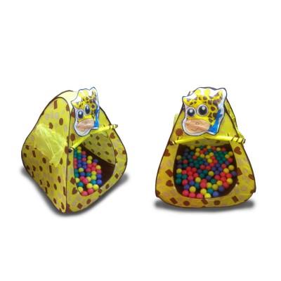"""Домик игровой """"Жираф"""" + 100 шариков CBH-11"""