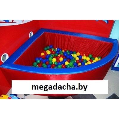Сухой шариковый бассейн «Угловой» R160 (нейлон) фото