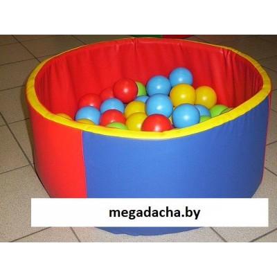 Сухой бассейн «Мини» круглый фото