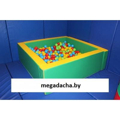Сухой бассейн «Квадратный» 165*165 см (нейлон)