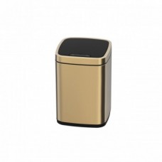 Сенсорное мусорное ведро JAVA Rome 12L Champagne Gold