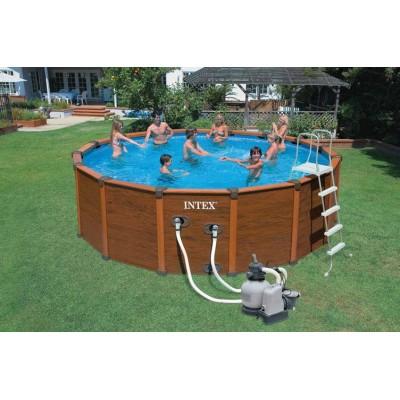 Каркасный бассейн с комплектом 569х135см, Sequoia Spirit, Intex 28396