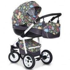 Детская универсальная коляска 2в1 RIKO NANO FLOWER