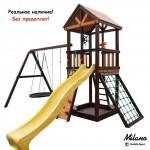 """Детский игровой комплекс Perfetto sport """"Milano"""" с качелями """"Oval"""""""