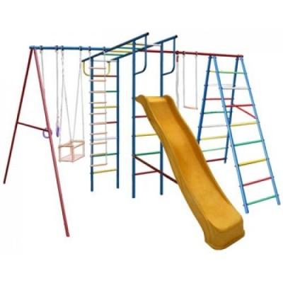 Игровой комплекс для дачи Вертикаль-А+П МАКСИ с горкой 3,0 м фото