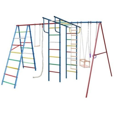 Игровой комплекс для дачи Вертикаль-А+П макси фото