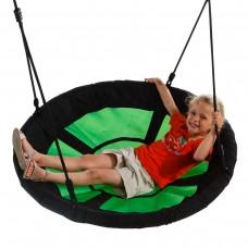 Детские качели-гнездо KBT Swibee (зеленый/черный)