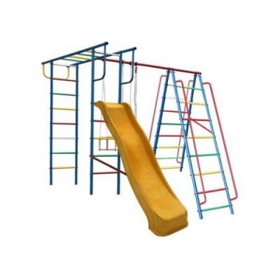 Игровой комплекс для дачи Вертикаль-А1+П с горкой 3,0 м фото