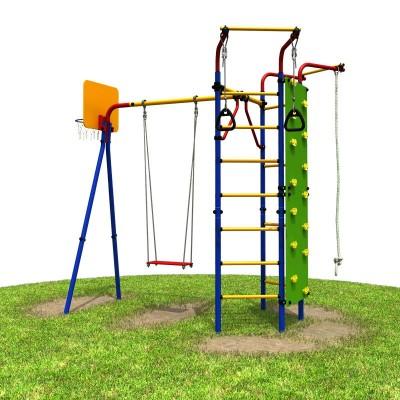 Детский спортивный комплекс (ДСК) для улицы «Карусель 3.3.14.31» Скалодром фото