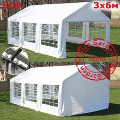 Тент-шатер Giza Garden 3x6м белый фото