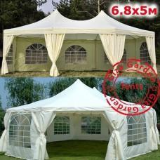 Восьмиугольный тент-шатер Giza Garden 5х6,8 м
