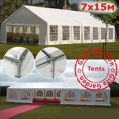Тент-шатер Giza Garden 7х15 м фото