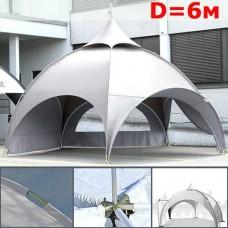Тент-шатер Dome 6 м диаметром