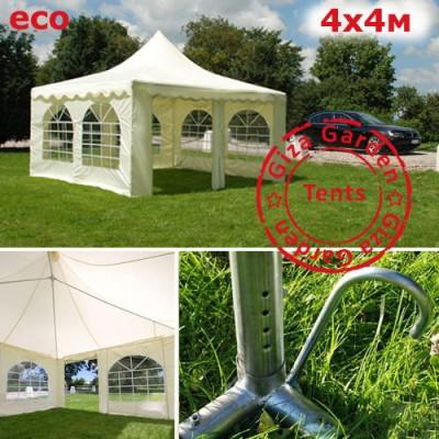 Тент-шатер пагода Giza Garden 4х4м ECO фото