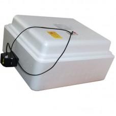 Инкубатор Несушка с аналоговым терморегулятором, цифровой индикацией, на 77 яйц, автопереворот