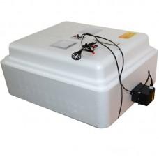 Инкубатор Несушка с аналоговым терморегулятором, цифровой индикацией, на 77 яиц, автопереворот, 12В