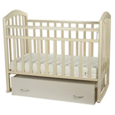 Детская кроватка Антел Алита 4 (Белый, Слоновая кость) фото