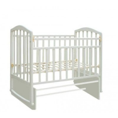 Детская кроватка Антел Алита 5 (Белый, Слоновая кость) фото