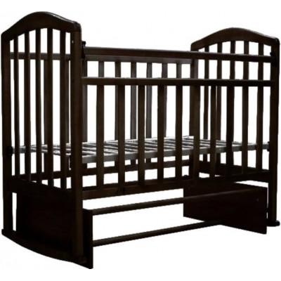 Детская кроватка Антел Алита 5 (Венге) фото